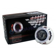 "Vision M803 2.5"" Mini MH1 Double Angel Eyes HID Projector Lens"