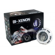 "Vision M808 2.0"" Super Mini MH1 Double Angel eyes HID Projector Lens"